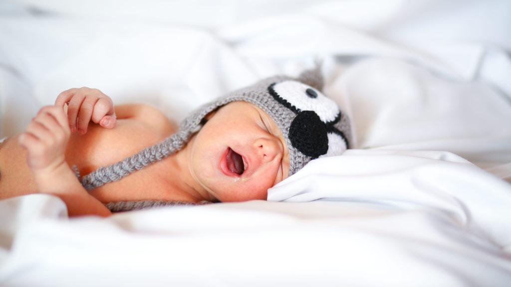 Ein schnarchendes Baby