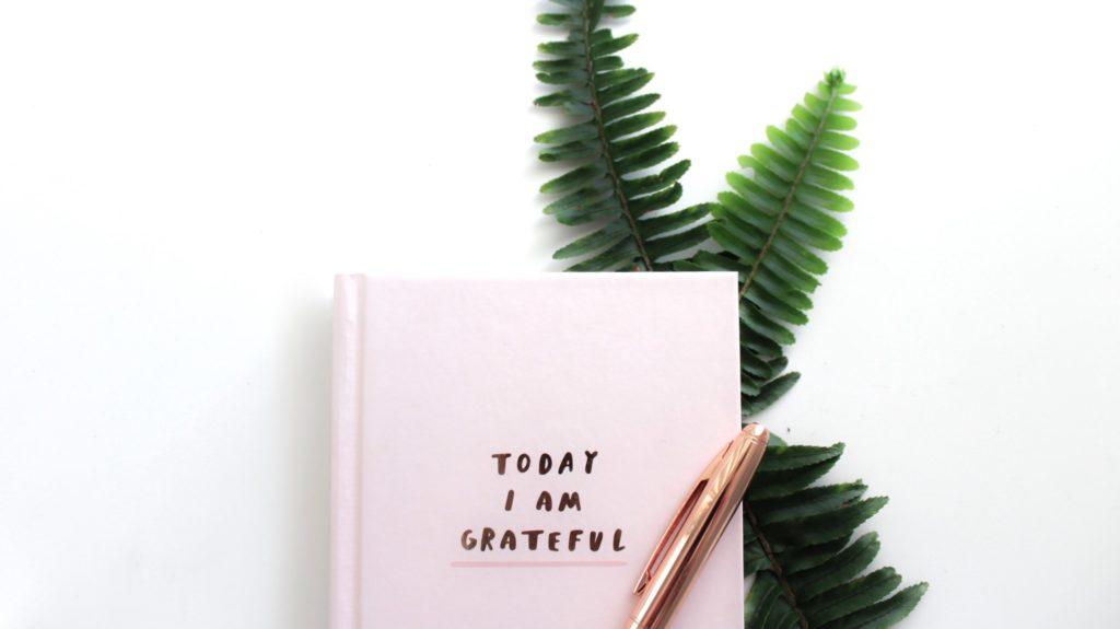 Dankbarkeit aufschreiben