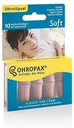 Schaumstoff Ohropax in hautfarben